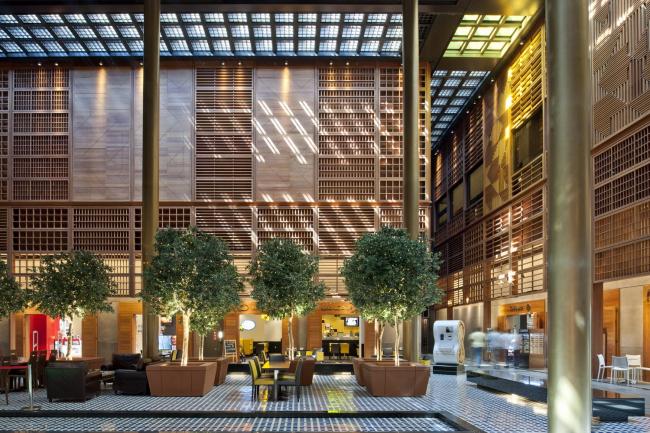 Центральный рынок Абу-Даби. Фото © Nigel Young/Foster + Partners