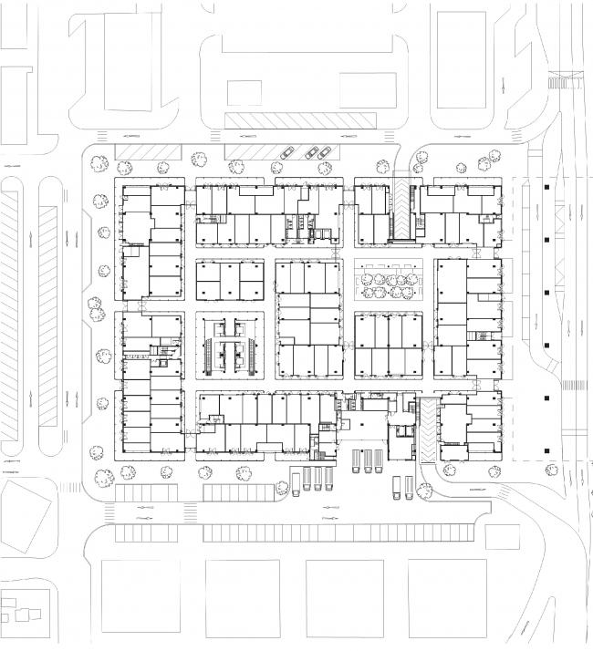 Центральный рынок Абу-Даби © Foster + Partners