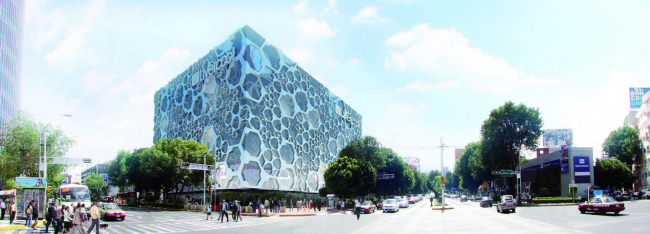 Универмаг Liverpool Insurgentes – реконструкция © Glessner Group. Courtesy of Rojkind Arquitectos