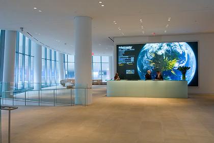 Штаб-квартира компании InterActiveCorp в Нью-Йорке. Вестибюль © Thomas Mayer