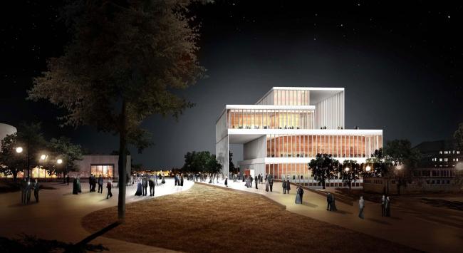 Проект Дэвида Чипперфильда. Изображение с сайта beethoven-festspielhaus.de
