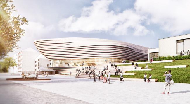 Проект kadawittfeldarchitektur. Изображение с сайта beethoven-festspielhaus.de