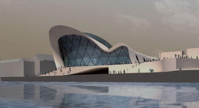Проект Valentiny hvp architects. Изображение с сайта beethoven-festspielhaus.de