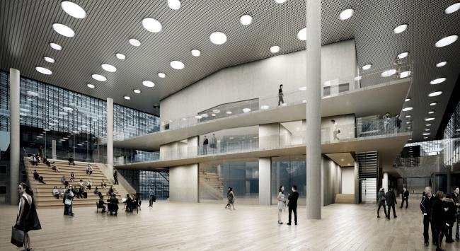 Проект Хельмута Яна и бюро JAHN. Изображение с сайта beethoven-festspielhaus.de