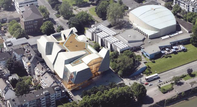 Проект UNStudio. Изображение с сайта beethoven-festspielhaus.de