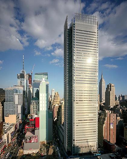 Башня «Нью-Йорк Таймс». Нью-Йорк, США