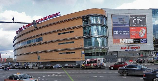 Торгово-развлекательный комплекс «Щука». Панорама с сайта maps.yandex.ru