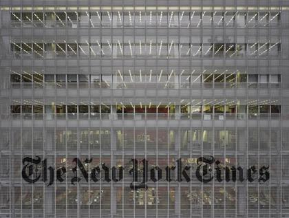 Ренцо Пьяно. Башня «Нью-Йорк Таймс». Нью-Йорк, США