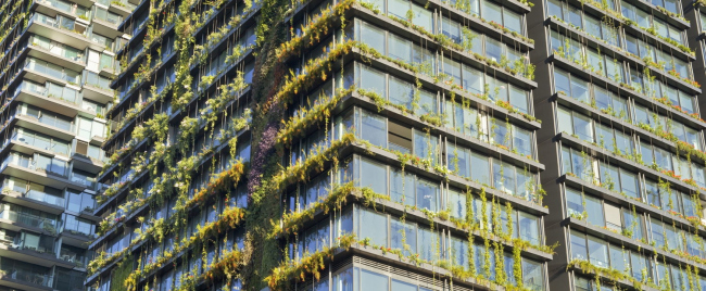 Башня One Central Park. Архитекторы Ateliers Jean Nouvel. Местные партнеры PTW Architects. Фотограф Simon Wood. Предоставлено Frasers Property и Sekisui House