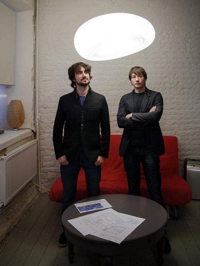 Михаил Крымов и Алексей Горяинов © Архитектурная мастерская Arch group