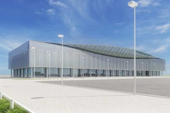 Концепция реконструкции аэропорта в Абакане © Архитектурная мастерская Arch group