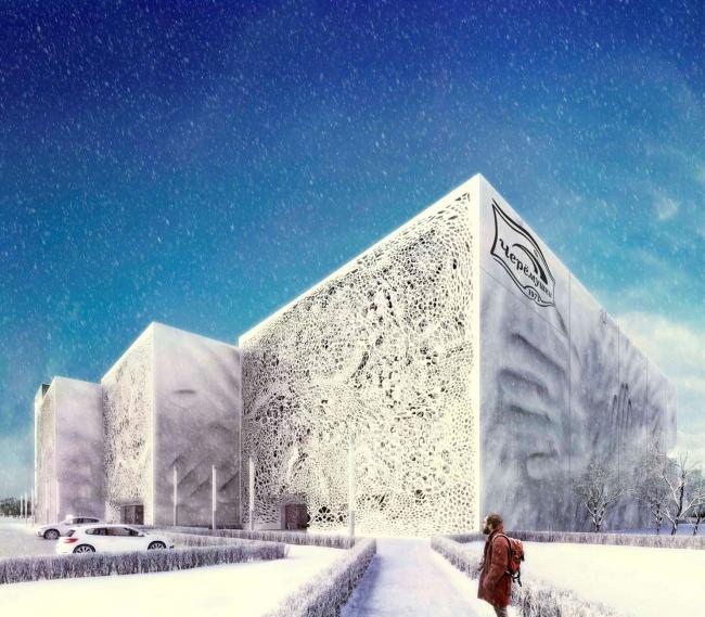 Реконструкция хлебобулочного завода «Простор» в Черемушках © Архитектурная мастерская Arch group