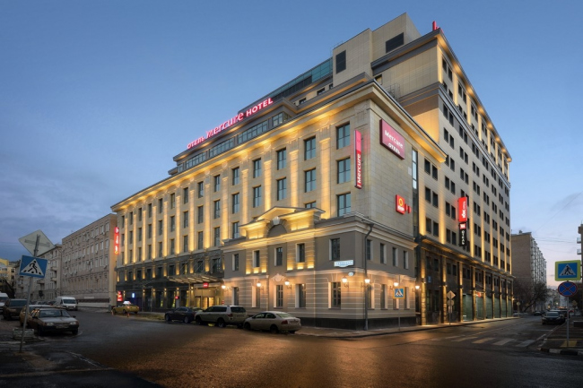 Гостиничный комплекс на улице Бахрушина. Фото с сайта eleventgroup.ru