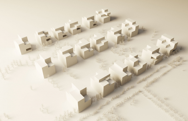 Жилой микрорайон Поляна самоцветов © Архитектурное бюро «ПАНАКОМ»