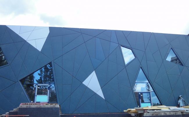 Новая школа в Зеленограде. Фото с сайта aluwall.ru