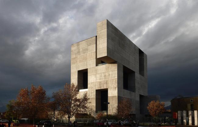 Центр инноваций Католического университета Чили «Анаклето Анджелини» © ELEMENTAL - Nina Vidic