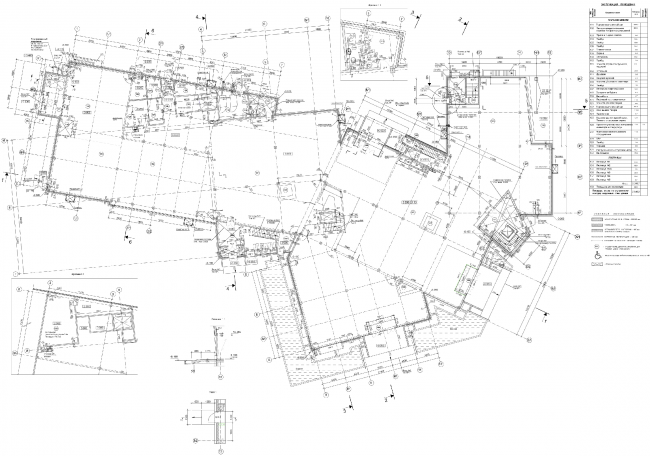 План 1-го этажа. Торговый центр в Великом Новгороде © ПТАМ Виссарионова