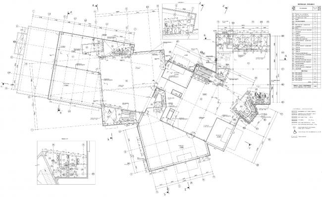 План 2-го этажа. Торговый центр в Великом Новгороде © ПТАМ Виссарионова