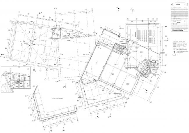 План 3-го этажа. Торговый центр в Великом Новгороде © ПТАМ Виссарионова