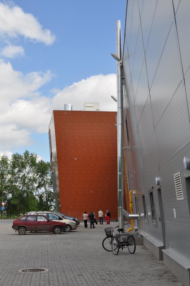 Торговый центр в Великом Новгороде. Фотография © Кафедра архитектуры НовГУ