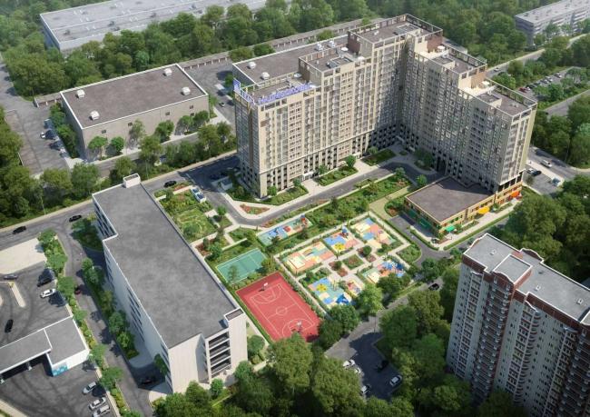Жилой комплекс «Декарт». Иллюстрация с сайта tekta.com