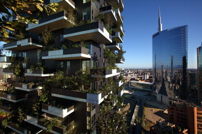 Жилой комплекс Bosco Verticale © Paolo Sacchi