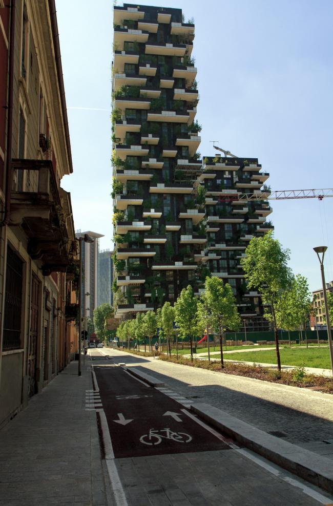 Жилой комплекс Bosco Verticale. Фото предоставлено Stefano Boeri Architetti