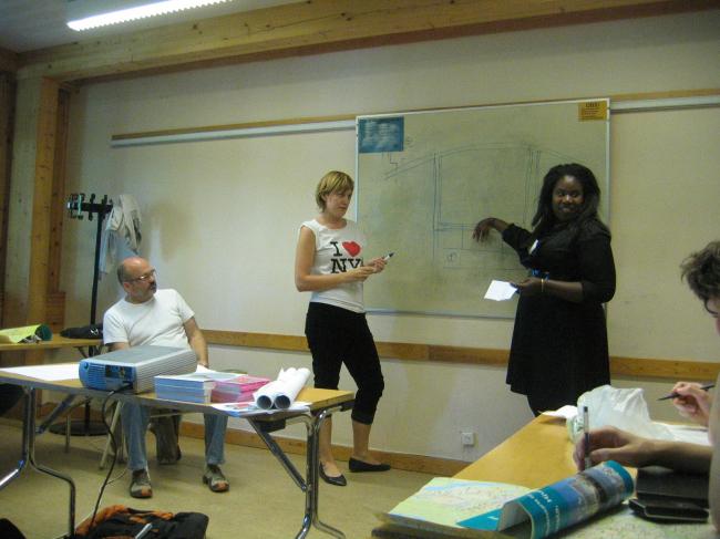 Со студентами Шведского Королевского Университета. Фотография предоставлена Оскаром Мамлеевым