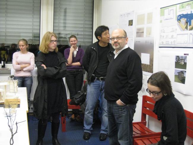 Проектный семинар в Германии. Фотография предоставлена Оскаром Мамлеевым