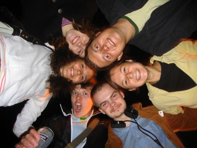 Студенты МАРХИ в Стокгольме. Фотография предоставлена Оскаром Мамлеевым
