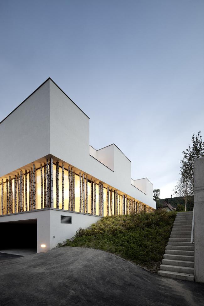 Жилой дом с приемной врача Ordination Wienerwald © Kurt Kuball