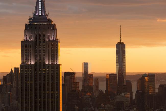 ВТЦ Башня 1. На первом плане – «Эмпайр Стейт Билдинг» © James Ewing | OTTO