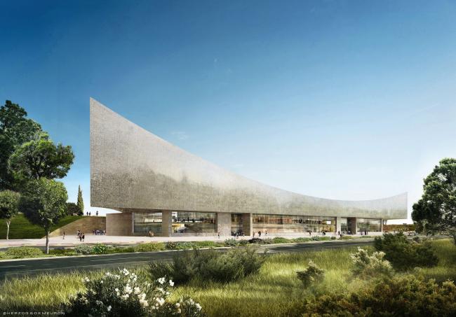 Национальная библиотека Израиля – новое здание © Herzog & de Meuron
