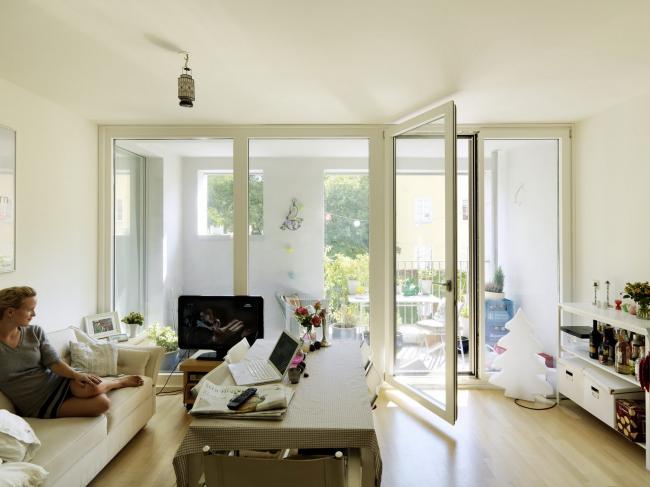 Жилой дом на Мюллерштрассе © Paul Ott