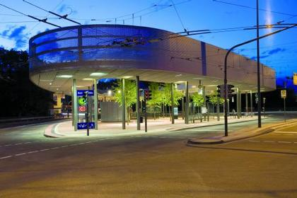 ASTOC Architects + Planners. Железнодорожный вокзал «Митте» в Золингене