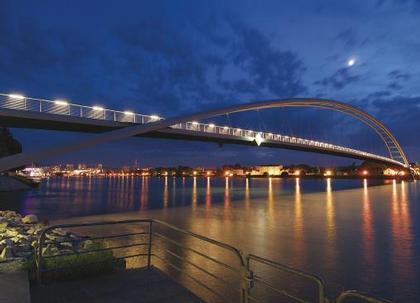 Дитмар Файхтингер. Мост Драйлэндербрюке в Вайле-на-Рейне