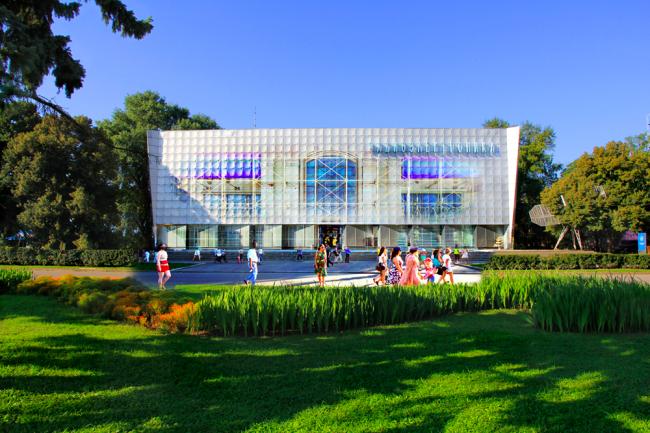 Проект «Радиоэлектроника. Регенерация». 2014 год. Архитектор Дмитрий Михейкин