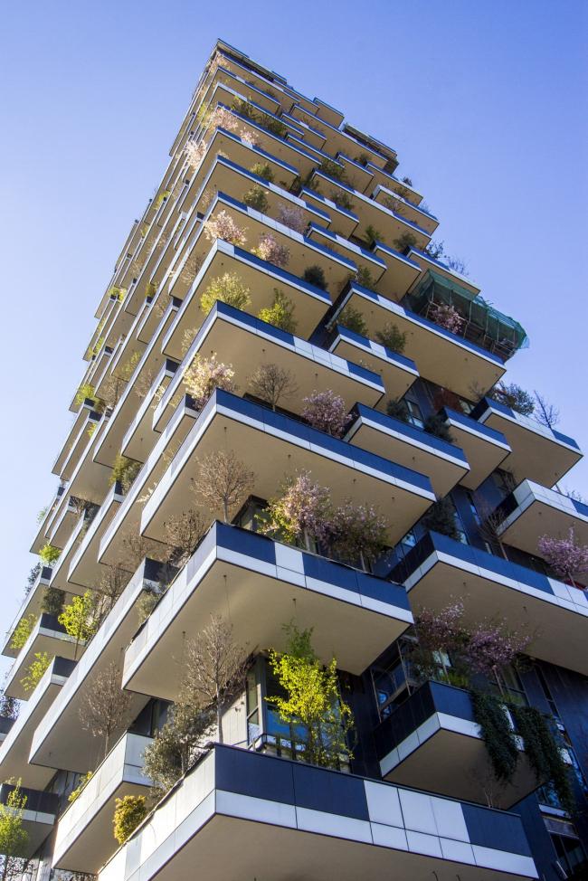 Жилой комплекс Bosco Verticale © Arup