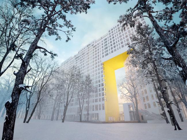Многофункциональный комплекс и Центр художественной гимнастики © АБ Остоженка