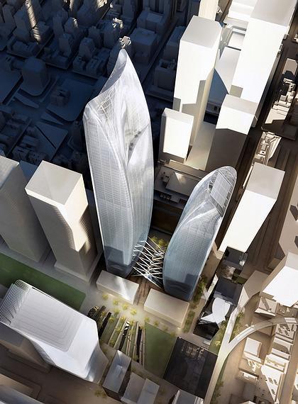 Проект Brookfield Properties («Диллер Скофидио & Ренфро», SOM, SANAA и др.)