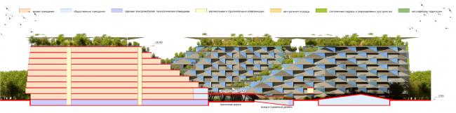 Районы многоквартирных домов. Концепция жилых кварталов планировочного района «Технопарк» инновационного центра «Сколково» © Arch Group