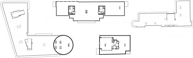 Жилой комплекс на ул. Остоженка. План 7 этажа © АБ Остоженка