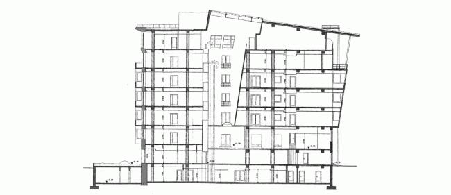 Реконструкция офисного здания в Соймоновском проезде © АБ Остоженка