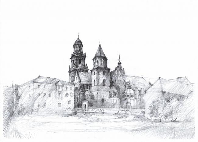 Финалист в категории «Путевой рисунок. Студенты». Artur Stępniak. Иллюстрация: krobarch.com