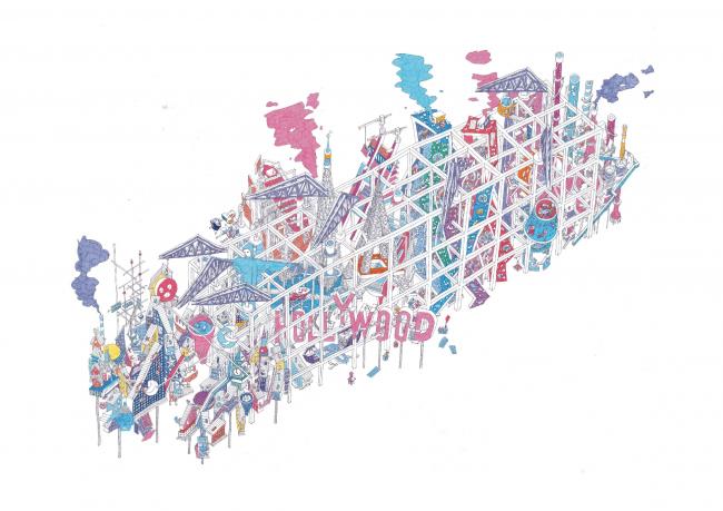 Финалист в категории «Рисунок, выполненный от руки. Студенты». Егор Орлов. Иллюстрация: krobarch.com