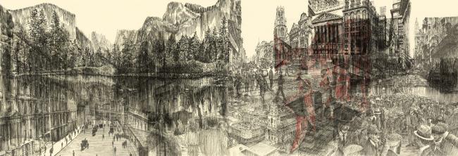 Победитель в категории «Рисунок, выполненный от руки. Студенты». Zuzana Sojkova. Иллюстрация: krobarch.com