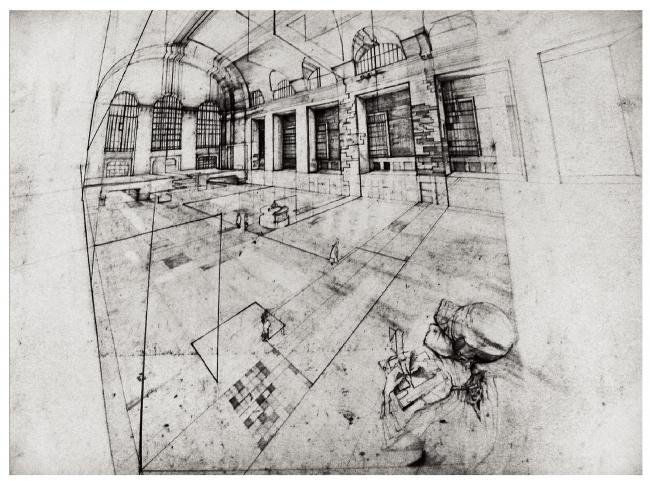 Финалист в категории «Рисунок, выполненный от руки. Студенты». Anastasiya Chybireva-Fender. Иллюстрация: krobarch.com