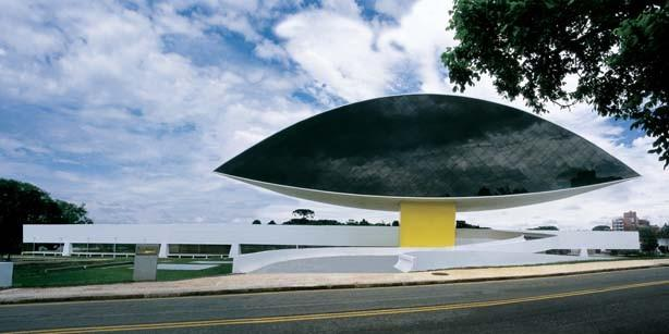 Оскар Нимейер. Музей Куритиба, 2001