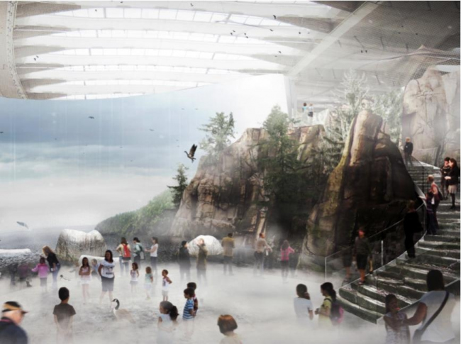 Реконструкция музея Biodôme © AZPML, KANVA architecture, NEUF architect(e)s
