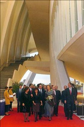 Королева Испании София открывает «Дворец искусств» своего имени в Валенсии